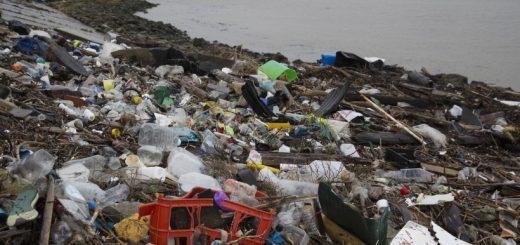 Basura plástico